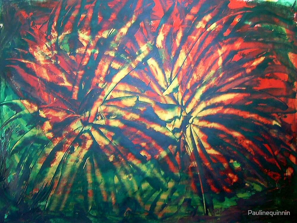 Fire Flowers by Paulinequinnin
