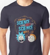 Rick and morty science art Unisex T-Shirt