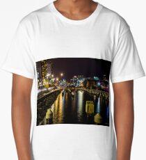 Central Pier, Docklands, Melbourne, Australia. Long T-Shirt