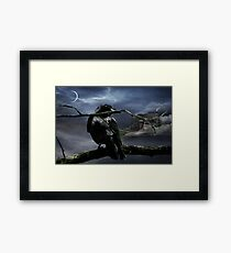 """Quoth The Raven, """"Nevermore"""" Framed Print"""