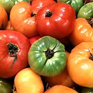 Heirloom Tomatoes by waddleudo