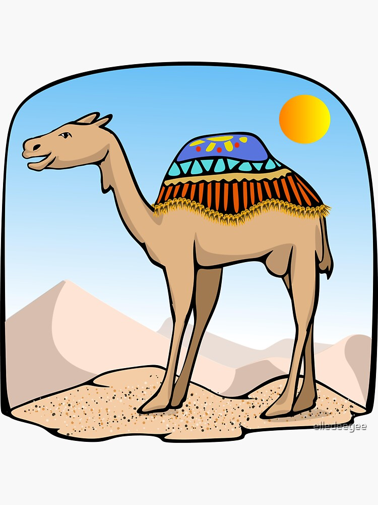 Exalted Camel by elledeegee