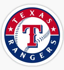 texas rangers Sticker