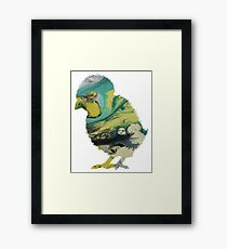 Chick Framed Print