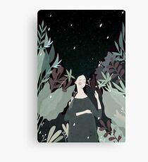 sleepiness Canvas Print