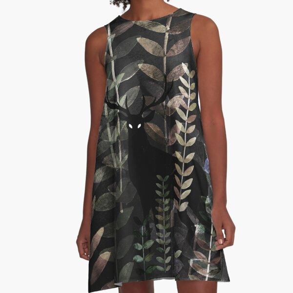 glass forest A-Line Dress