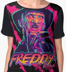 Freddy Krueger StayRad! Chiffon Top