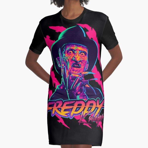 Freddy Krueger StayRad! Graphic T-Shirt Dress