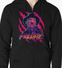 Freddy Krueger StayRad! Zipped Hoodie