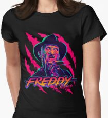 Freddy Krueger StayRad! Women's Fitted T-Shirt