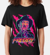 Freddy Krueger StayRad! Slim Fit T-Shirt