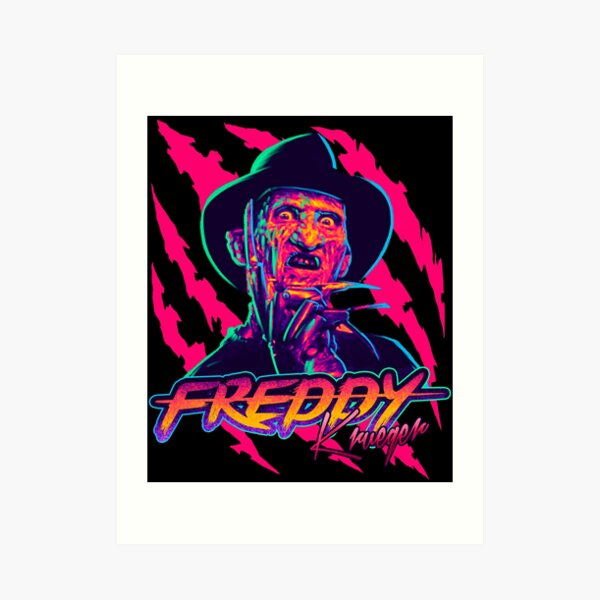 Freddy Krueger StayRad! Art Print