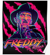 Póster Freddy Krueger StayRad!