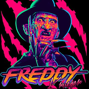 Freddy Krueger StayRad! by Gerkyart