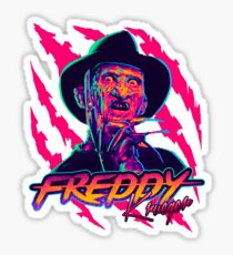Freddy Krueger StayRad! Sticker