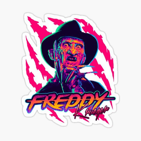 Freddy Krueger StayRad! Pegatina