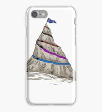 Journey to the Peak of BJJ Mountain iPhone Case/Skin