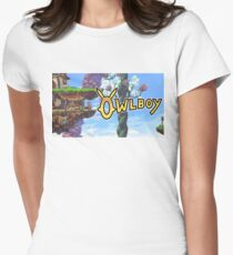 Owlboy Womens Fitted T-Shirt