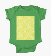 Lemon slices pattern design One Piece - Short Sleeve