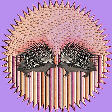 PORCUPINE 135 CIRCLE by sana90