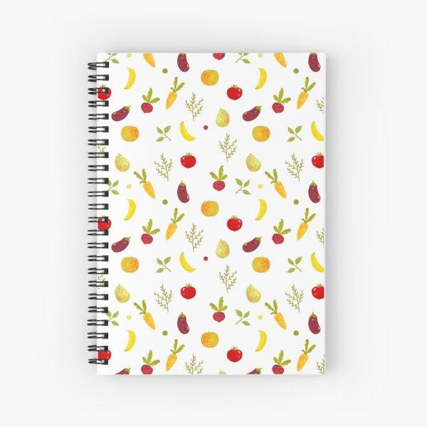 veggie Cuaderno de espiral