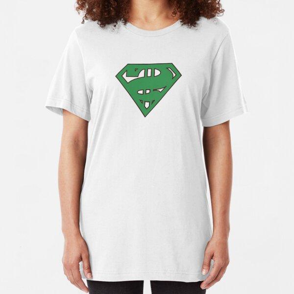 super senate in original green Slim Fit T-Shirt