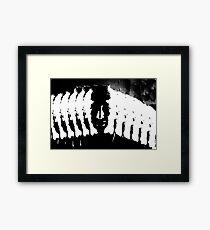 Noir copies Framed Print