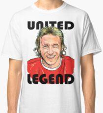 DENIS LAW MANCHESTER UNITED LEGEND Classic T-Shirt