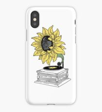 Singing in the sun iPhone Case