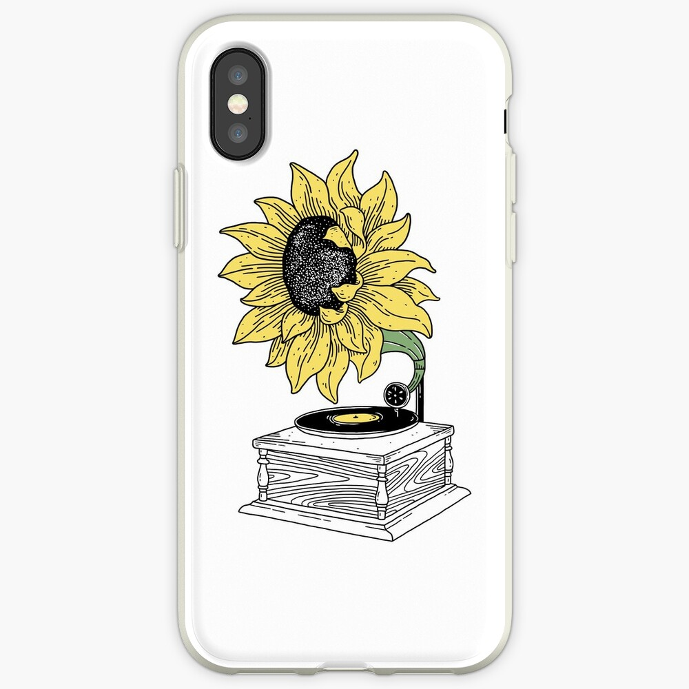 Singing in the sun iPhone Case & Cover