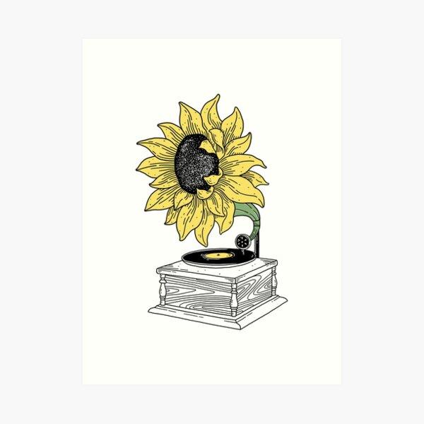 Singing in the sun Art Print