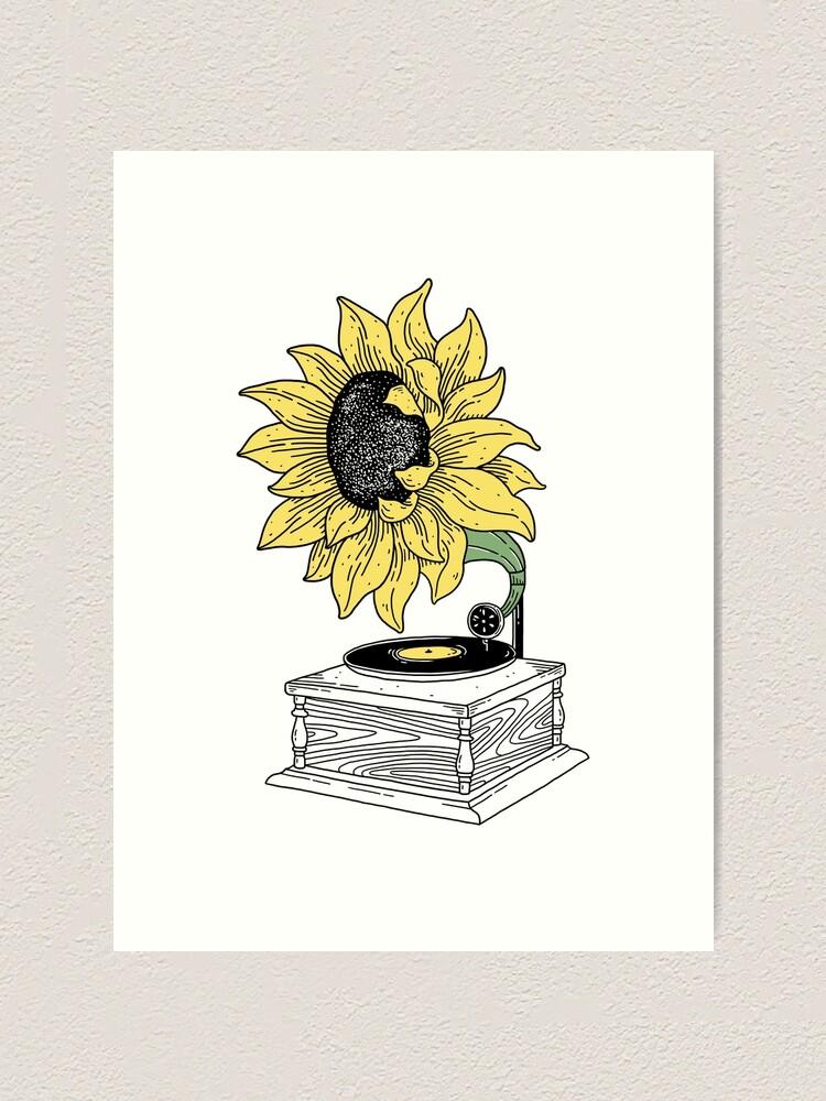 Alternate view of Singing in the sun Art Print