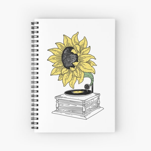 Singing in the sun Spiral Notebook