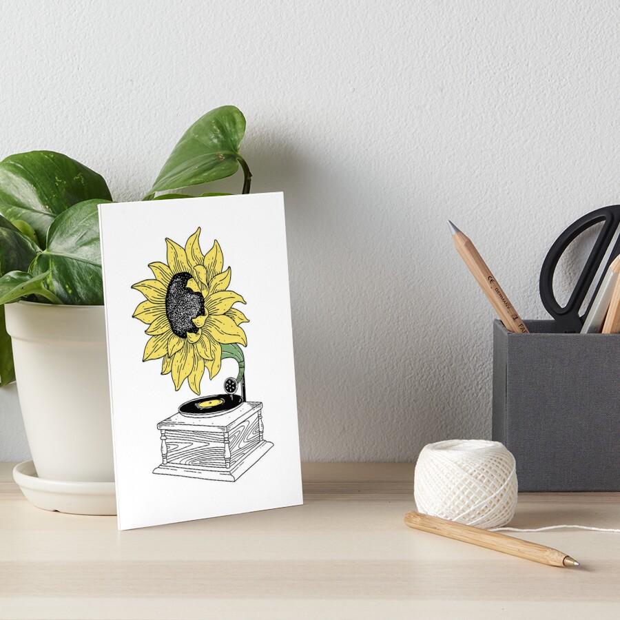 Singing in the sun Art Board Print