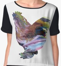 Rooster Women's Chiffon Top