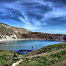 Lulworth Cove, Dorset, England by Clive