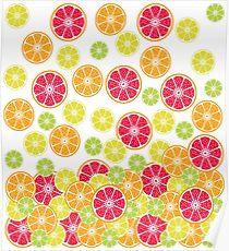 Citrus slices Poster