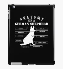 Anatomy of A German Shepherd Shirt iPad Case/Skin
