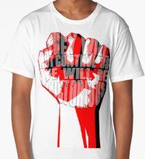 muse uprising fist Long T-Shirt