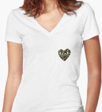 bape x cdg Women's Fitted V-Neck T-Shirt