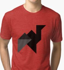 Abstract animal  Tri-blend T-Shirt