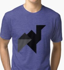 Abstract animal  Tri-blend T-Shirt