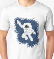 """Gimmie some space, baby!"" - Disco Astronaut Unisex T-Shirt"