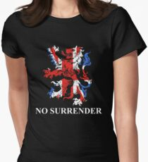 No Surrender Womens Fitted T-Shirt