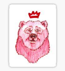 King Oso Sticker