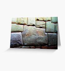 Sacred stone Greeting Card
