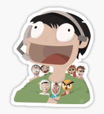 Vanossgaming and friends! Sticker