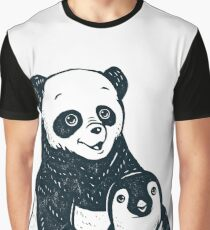Panda Graphic T-Shirt