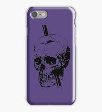 The Skull of Phineas Gage Vintage Illustration Vector iPhone Case/Skin