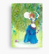 Belly Dancer Goddess Canvas Print